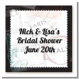 Passport - Personalized Bridal Shower Card Stock Favor Tags thumbnail