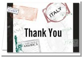 Passport - Bridal | Wedding Thank You Cards