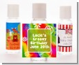Peace Tie Dye - Personalized Birthday Party Hand Sanitizers Favors thumbnail