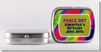 Peace Tie Dye - Personalized Birthday Party Mint Tins