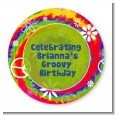 Peace Tie Dye - Personalized Birthday Party Table Confetti thumbnail