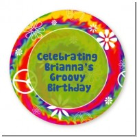 Peace Tie Dye - Personalized Birthday Party Table Confetti