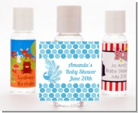 Peacock - Personalized Baby Shower Hand Sanitizers Favors