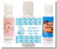 Peacock - Personalized Baby Shower Lotion Favors thumbnail