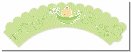 Sweet Pea Asian Girl - Baby Shower Cupcake Wrappers