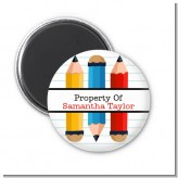 Pencils - Personalized School Magnet Favors