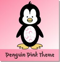 Penguin Pink Birthday Party Theme