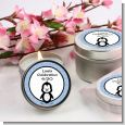 Penguin Blue - Baby Shower Candle Favors thumbnail