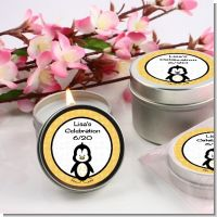 Penguin - Birthday Party Candle Favors
