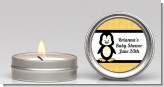 Penguin - Baby Shower Candle Favors