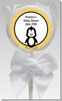 Penguin - Personalized Baby Shower Lollipop Favors