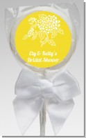 Peony - Personalized Bridal Shower Lollipop Favors