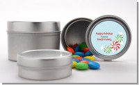 Peppermint Candy - Custom Christmas Favor Tins