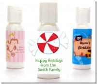 Peppermint Candy - Personalized Christmas Lotion Favors