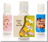 Petting Zoo - Personalized Birthday Party Lotion Favors
