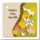 Petting Zoo - Personalized Birthday Party Card Stock Favor Tags