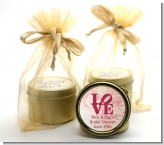 Philadelphia LOVE - Birthday Party Gold Tin Candle Favors