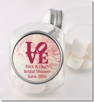 Philadelphia LOVE - Personalized Bridal Shower Candy Jar