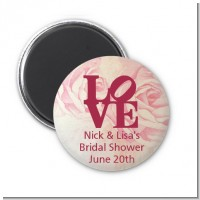 Philadelphia LOVE - Personalized Bridal Shower Magnet Favors