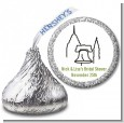 Philadelphia Skyline - Hershey Kiss Bridal Shower Sticker Labels thumbnail