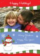 Frosty the Snowman - Personalized Photo Christmas Cards thumbnail