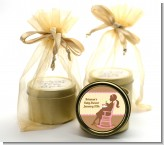 Pickles & Ice Cream - Baby Shower Gold Tin Candle Favors