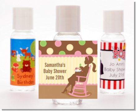 Pickles & Ice Cream - Personalized Baby Shower Hand Sanitizers Favors