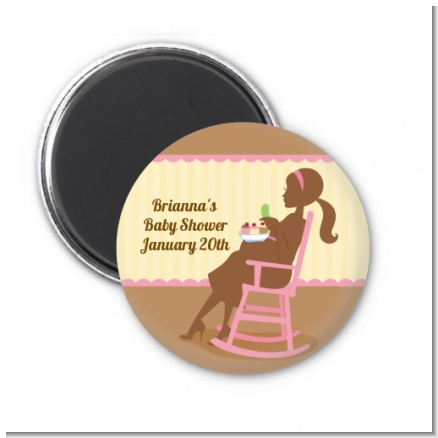 Pickles & Ice Cream - Personalized Baby Shower Magnet Favors