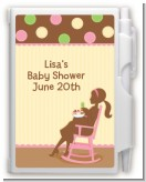 Pickles & Ice Cream - Baby Shower Personalized Notebook Favor