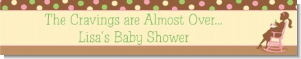 Pickles & Ice Cream - Personalized Baby Shower Banners