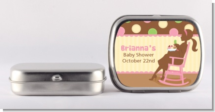 Pickles & Ice Cream - Personalized Baby Shower Mint Tins