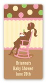 Pickles & Ice Cream - Custom Rectangle Baby Shower Sticker/Labels