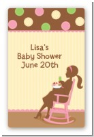 Pickles - Custom Large Rectangle Baby Shower Sticker/Labels