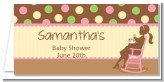 Pickles & Ice Cream - Personalized Baby Shower Place Cards