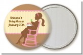 Pickles & Ice Cream - Personalized Baby Shower Pocket Mirror Favors