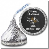 Pine Cones - Hershey Kiss Christmas Sticker Labels