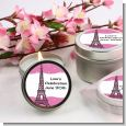 Pink Poodle in Paris - Baby Shower Candle Favors thumbnail
