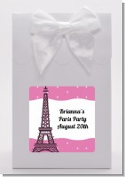 Pink Poodle in Paris - Baby Shower Goodie Bags