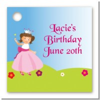 Princess Rolling Hills - Personalized Birthday Party Card Stock Favor Tags