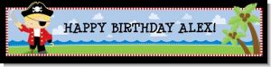 Pirate - Personalized Birthday Party Banners