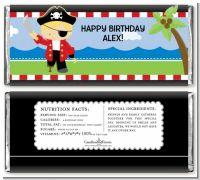 Pirate - Personalized Birthday Party Candy Bar Wrappers