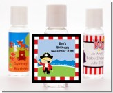Pirate - Personalized Birthday Party Hand Sanitizers Favors
