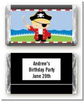 Pirate - Personalized Birthday Party Mini Candy Bar Wrappers