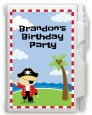 Pirate - Birthday Party Personalized Notebook Favor thumbnail