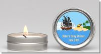 Pirate Ship - Baby Shower Candle Favors