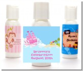 Pirate Ship Girl - Personalized Birthday Party Lotion Favors