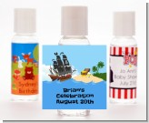 Pirate Ship - Personalized Birthday Party Hand Sanitizers Favors
