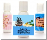 Pirate Ship - Personalized Baby Shower Lotion Favors