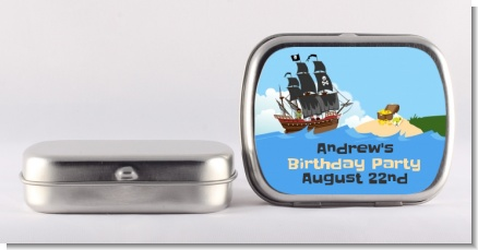 Pirate Ship - Personalized Birthday Party Mint Tins