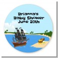 Pirate Ship - Personalized Baby Shower Table Confetti thumbnail